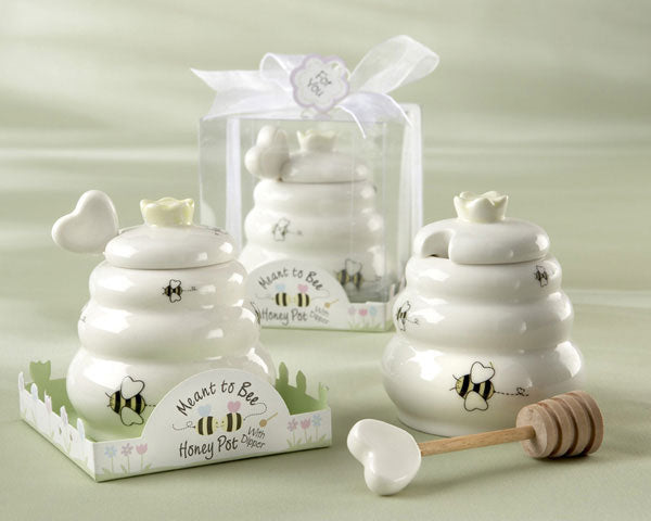 Bridal Shower Favors for Food Lovers: Honey Pot