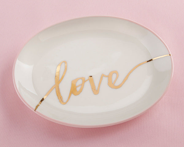 Love Trinket Dish | Stocking Stuffers for a Couple's First Christmas | My Wedding Favors