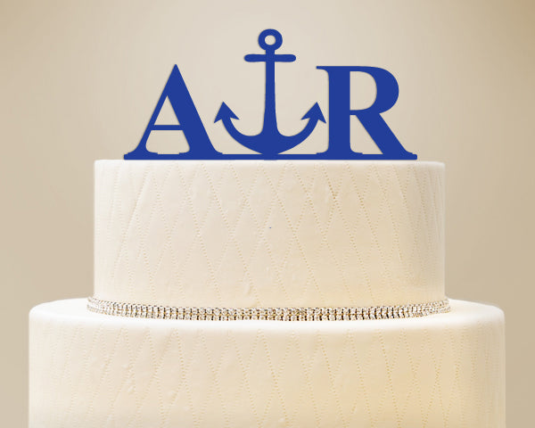 Unique Cake Toppers: Anchor