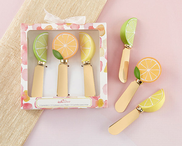 Citrus Spreader Gift Set | 8 Lovely Spring Wedding Favors & Décor | My Wedding Favors