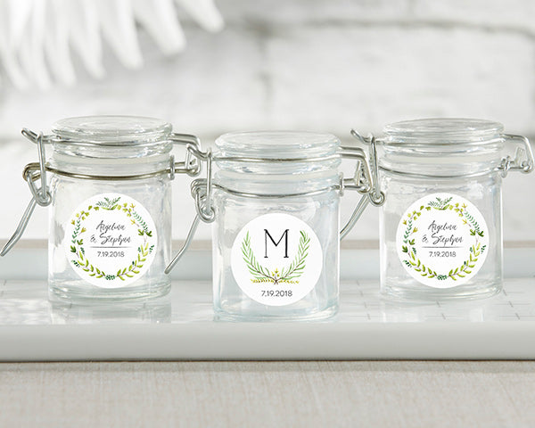 Personalized Mason Jars | Favor Container Round Up | My Wedding Favors