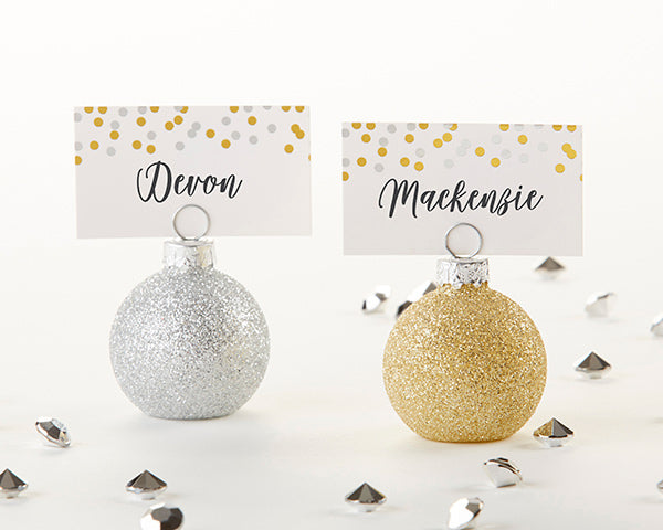 Ornaments | 8 Unique Wedding Reception Place Card Holders | My Wedding Favors