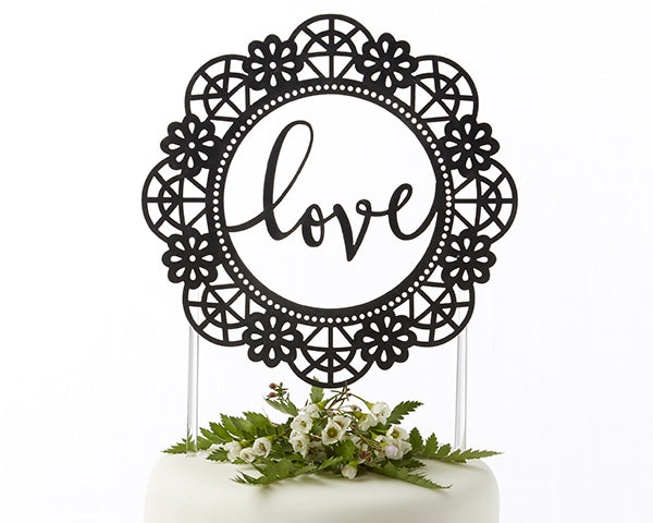Unique Cake Toppers: Love