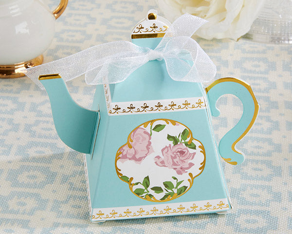 Tea Party Bridal Shower: Favor Boxes