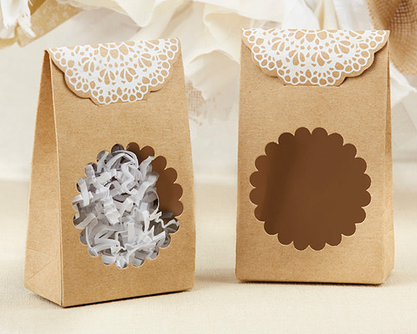 Rustic Tent Favor Boxes | Favor Container Round Up | My Wedding Favors