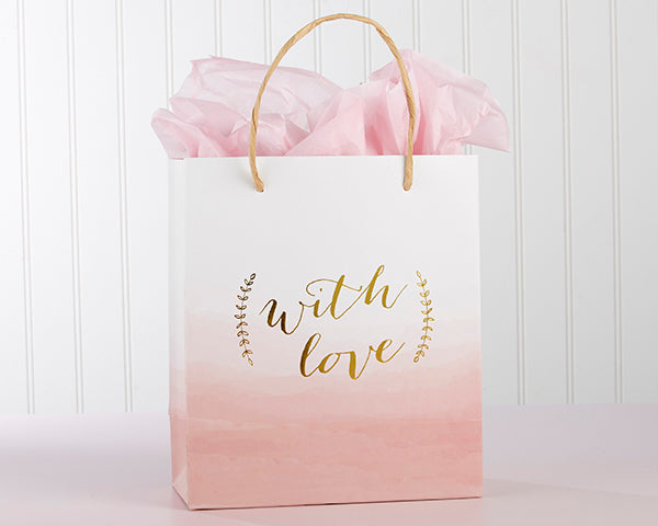 With Love Pink Gift Bags | Favor Container Round Up | My Wedding Favors
