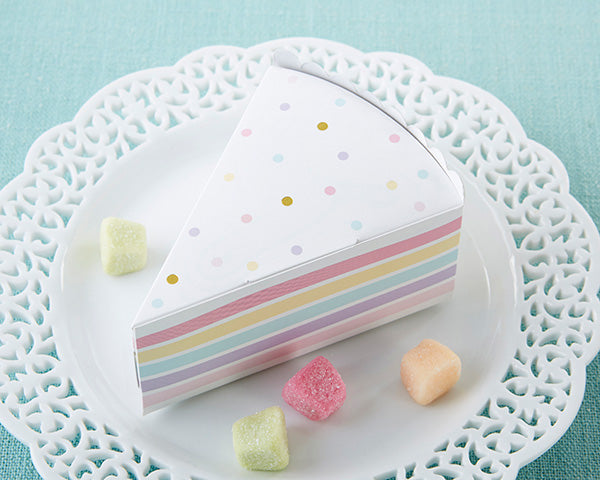 Cake Slice Favor Boxes | 7 Sweet Summer Wedding Favors | My Wedding Favors