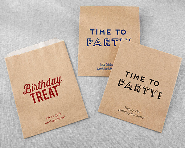 Favor Bags | Boozy Birthday Party Favors | My Wedding Favors