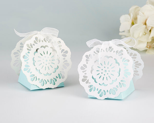 Lace Favor Boxes | Incorporating Lace Into Your Wedding | My Wedding Favors