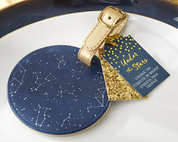 Wedding Under the Stars: Luggage Tags