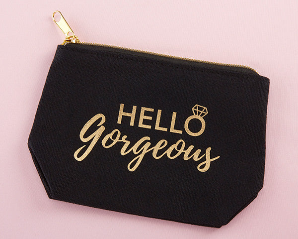 Makeup Bags | Bachelorette Party Favors and Must-Haves | My Wedding Favors