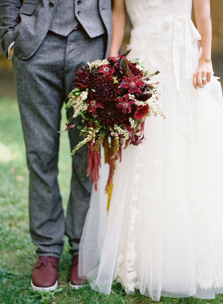 Marsala Wedding Shoes: Groom Shoes