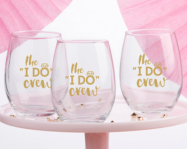 Stemless Wine Glass | Bachelorette Party Favors and Must-Haves | My Wedding Favors