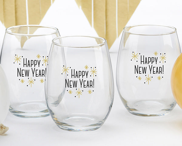 New Year's Eve Wedding: Glasses