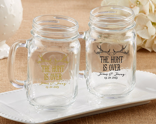 Mason Jars | Must-Haves for the Perfect Engagement Party | My Wedding Favors