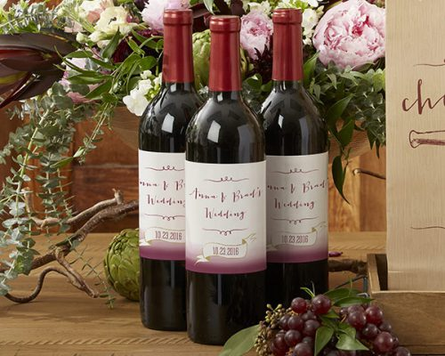Personalized Vineyard Wine Bottle Labels