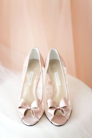 Rose Quartz Wedding Shoes