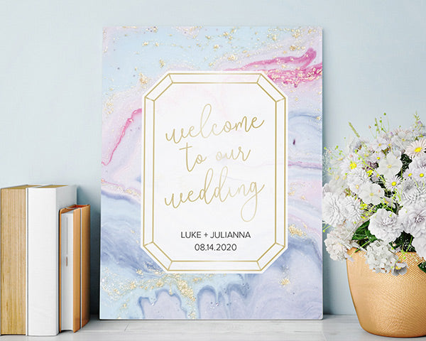 Elements Wedding Poster | A Gorgeous Elements Themed Wedding | Kate Aspen