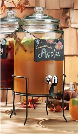 Treats for Your Autumn Wedding: Apple Cider
