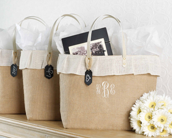 Spa Bridesmaid Gifts: Spa Tote