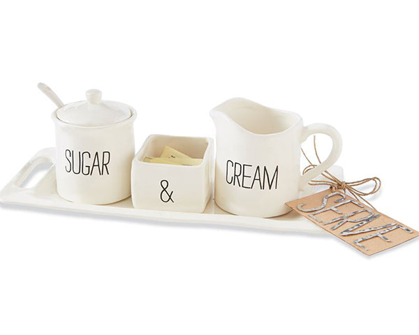 Engagement Gifts: Cream and Sugar