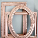 Rose Gold Wedding: Frames
