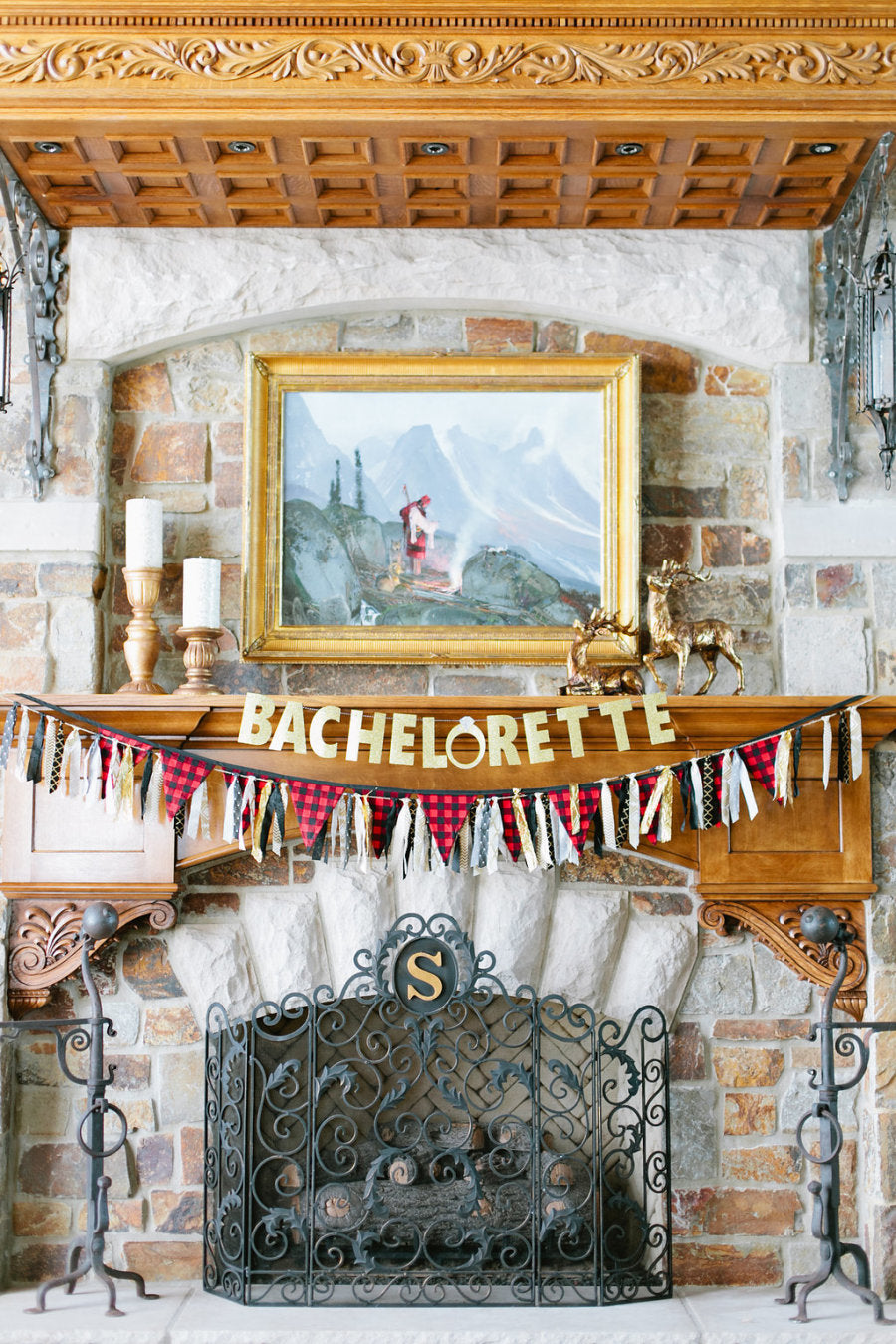 A Woodland Cabin Bachelorette | 8 Unexpected Destination Bachelorette Ideas | My Wedding Favors
