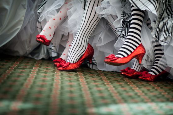 Halloween Wedding: Shoes
