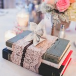 Book-Themed Bridal Shower: Book Place-Setting