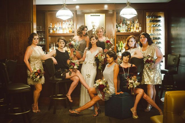 Should You Have a Themed Wedding? Great Gatsby Wedding