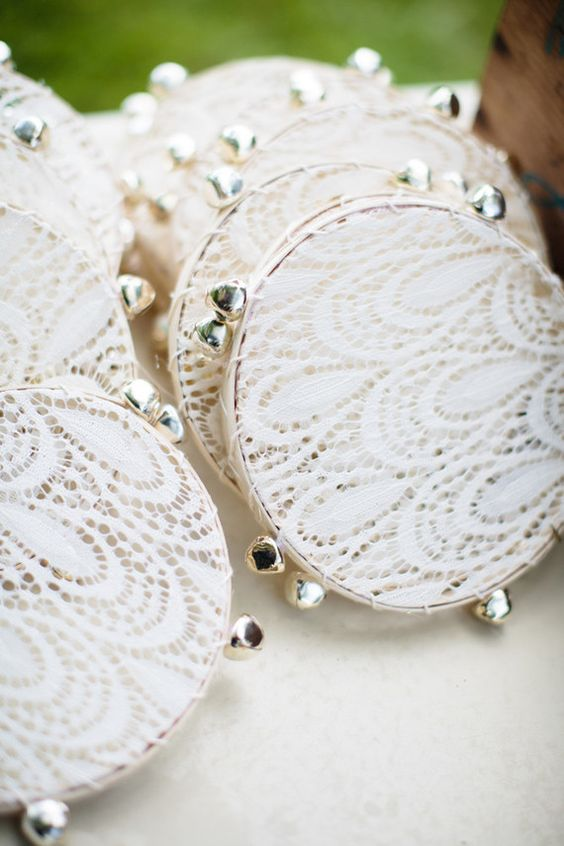 Wedding Send Off: Tambourines
