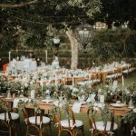 Backyard Wedding: Nature