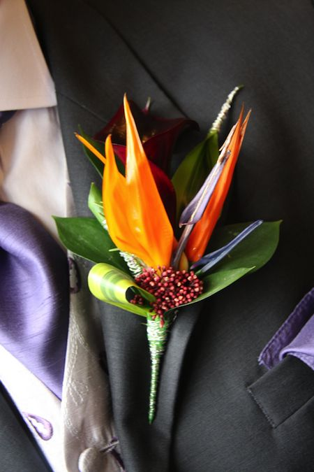 Spring Wedding Flowers: Birds of Paradise