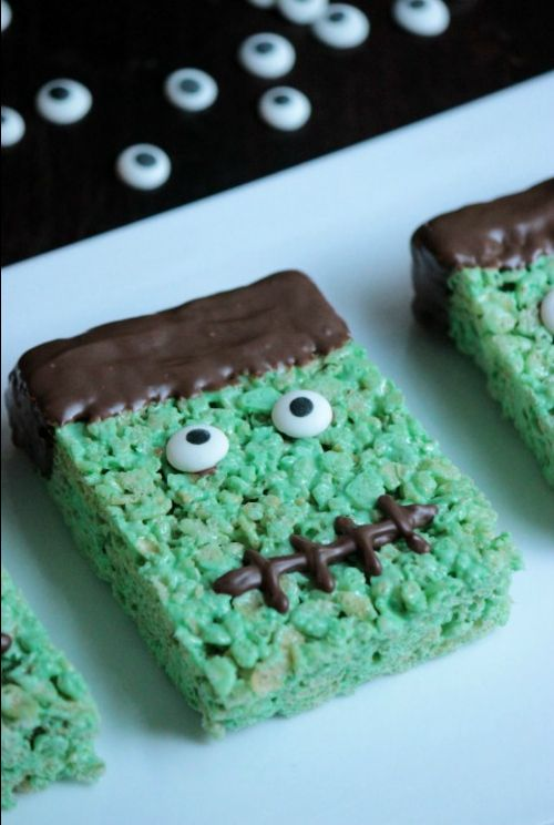 Frankenstein Treats | Spooky Food For a Halloween Party | My Wedding Favors