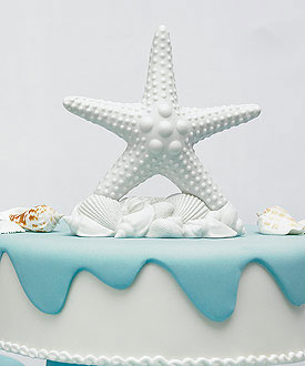 Starfish Cake Topper | 8 Cake Toppers For a Show Stopping Wedding | My Wedding Favors