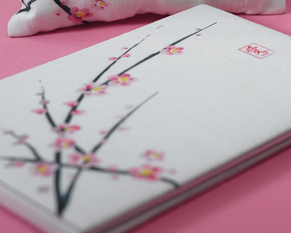 Wedding Guest Books: Cherry Blossoms