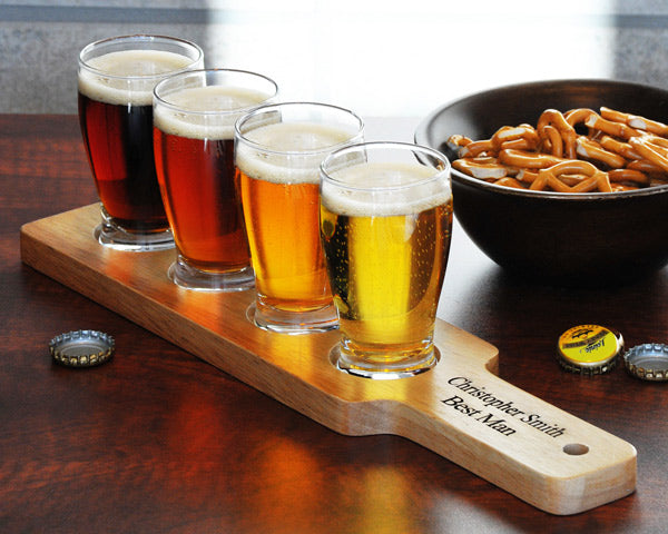 Engagement Gifts: Beer Flight