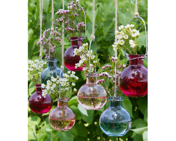Ultra Floral Wedding: Hanging Vases