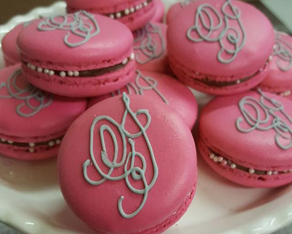 Personalized Macarons | 8 Dessert Ideas for Your Engagement Party | My Wedding Favors