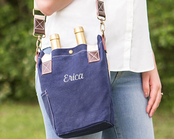 Canvas Wine Tote | 7 Gifts for the Mother of the Bride | My Wedding Favors