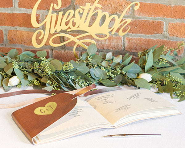 Guestbook | 6 Well Wishes Ideas for the Newlyweds | My Wedding Favors