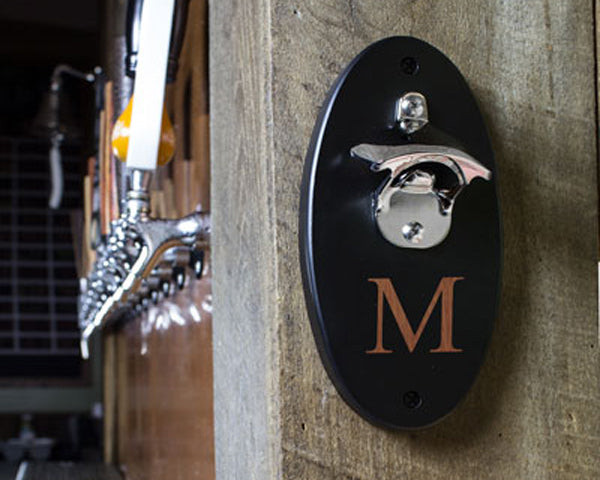 Wall-Mounted Bottle Openers | 8 Groomsmen Gifts for Alcohol Lovers | My Wedding Favors