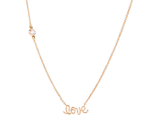 Love Necklace | Stocking Stuffers for a Couple's First Christmas | My Wedding Favors