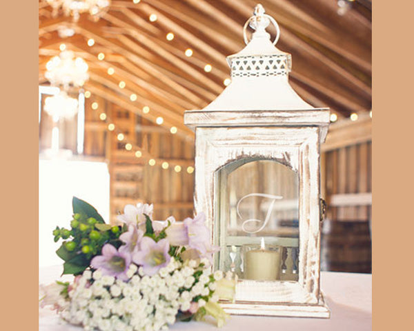 White Lantern | 8 Ideas For Winter Wedding Decor | My Wedding Favors