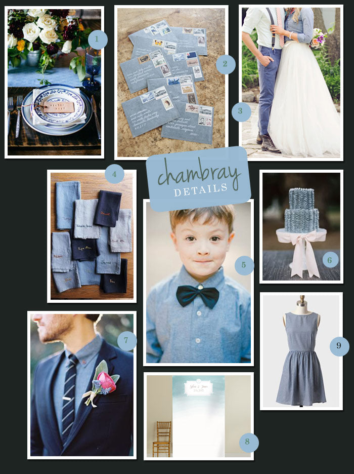 Chambray-Wedding-Details