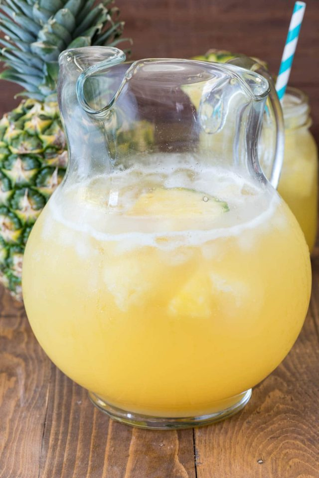 Pineapple Punch | How to Throw a Pineapple Themed Bachelorette Party | My Wedding Favors