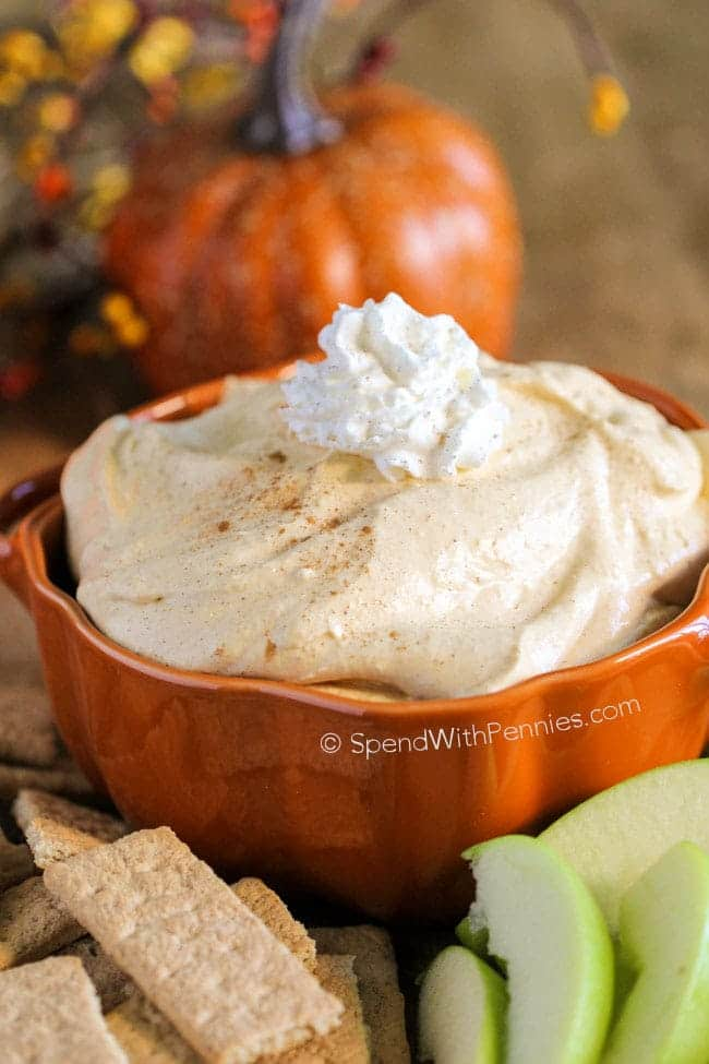 Pumpkin Dip | Planning The Perfect Pumpkin Themed Shower | My Wedding Favors