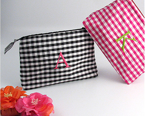 Spa Bridesmaid Gifts: Makeup Bag