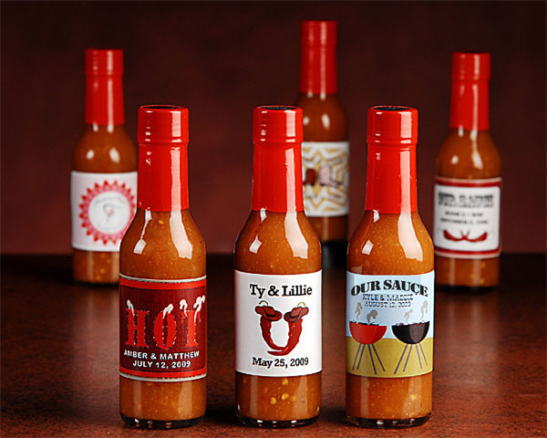 Novelty Favors: Hot Sauce