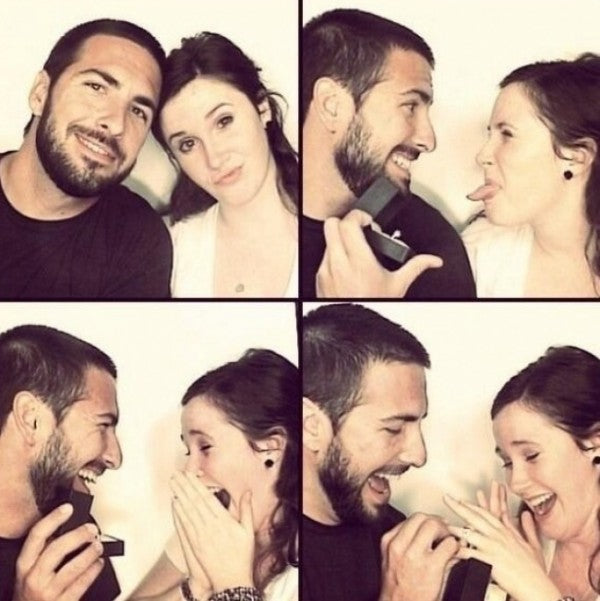 Wedding Proposal In A Photo Booth | Wedding Proposal Ideas That You're Sure to Love | My Wedding Favors